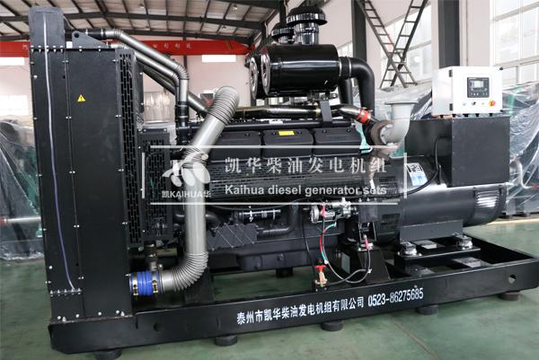南昌房产500KW上柴发电机组成功出厂 发货现场 第2张