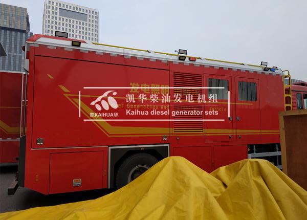 山东消防200KW静音发电机组成功交付 国内案例 第1张