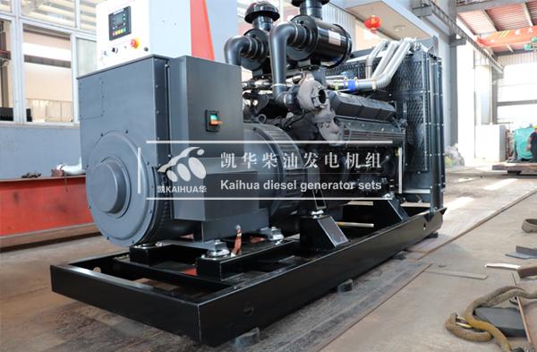 大庆市政500KW上柴发电机组成功出厂 发货现场 第1张