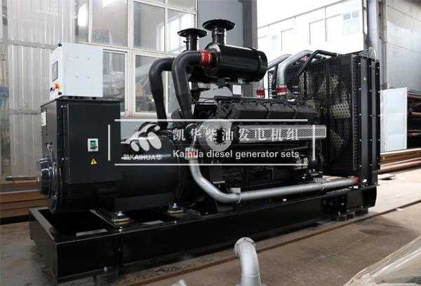 兰州广场500KW上柴发电机组成功出厂 发货现场 第1张