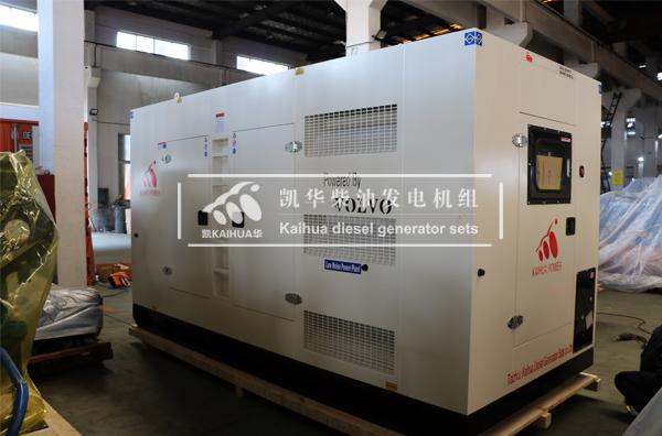 出口菲律宾的300KW沃尔沃发电机组成功交付 国外案例 第2张