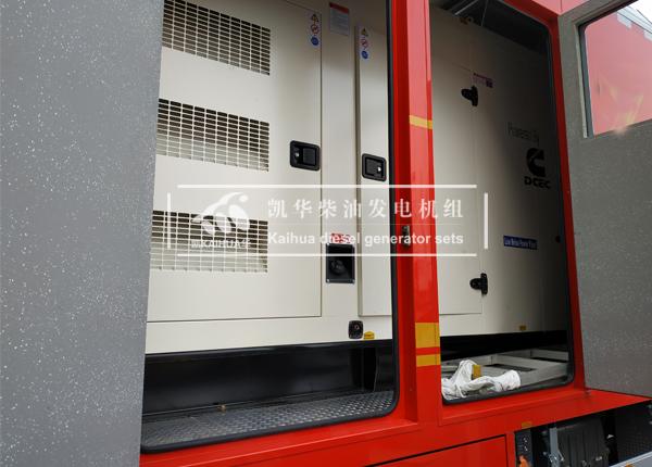 山东消防200KW静音发电机组成功交付 国内案例 第2张