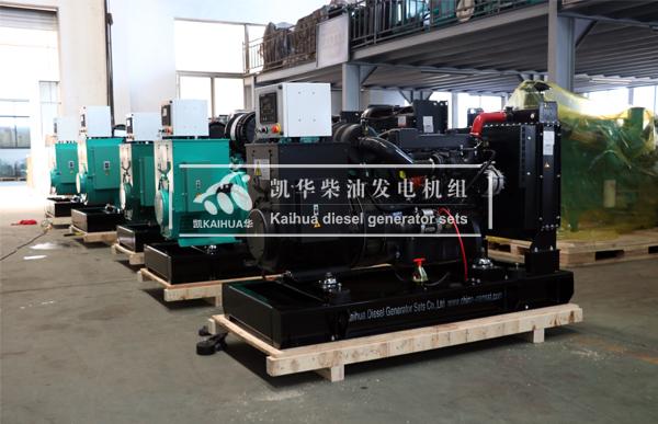 出口安哥拉的5台柴油发电机组成功出厂 发货现场 第2张