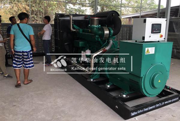 缅甸两台500KW玉柴发电机组成功交付 国外案例 第2张