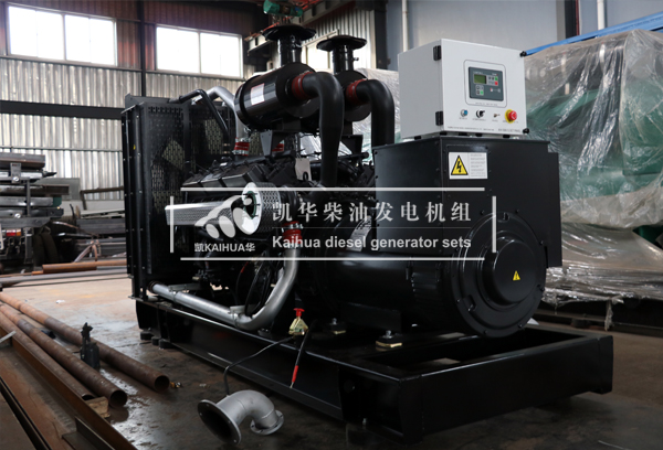 兰州广场500KW上柴发电机组成功出厂 发货现场 第2张