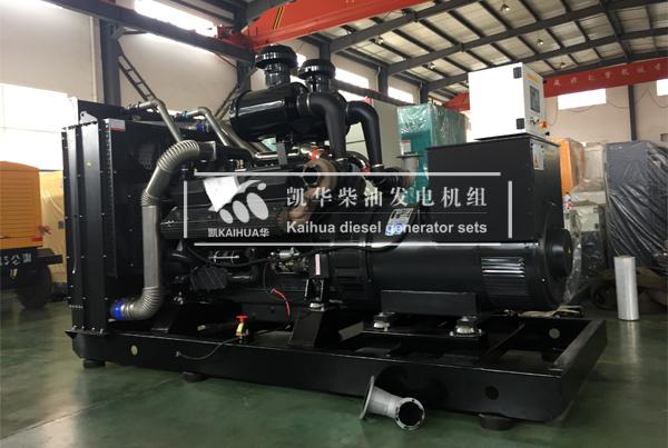 苏州建工500KW上柴发电机组成功出厂 发货现场 第1张