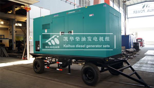 山东港口400KW移动静音发电机组成功出厂 发货现场 第2张