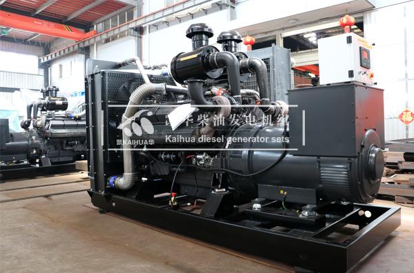 新疆建设两台上柴发电机组成功出厂 发货现场 第1张