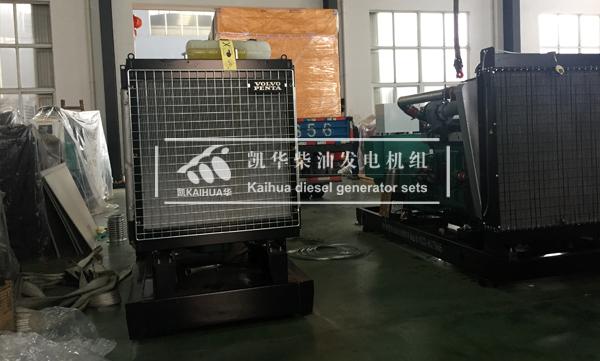 长春消防两台300KW发电机组成功出厂 发货现场 第2张
