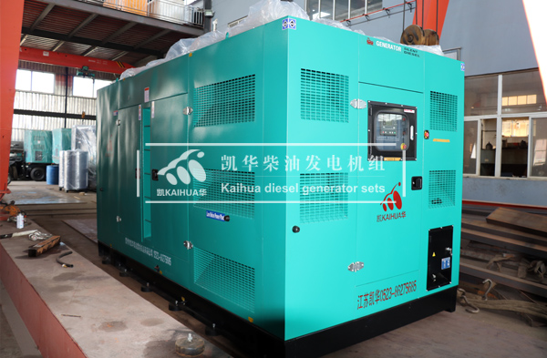 福建照明500KW静音发电机组成功出厂