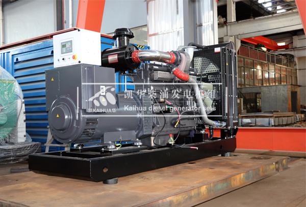 南昌建设300KW上柴发电机组成功出厂 发货现场 第1张