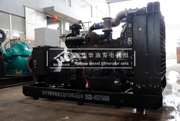 青岛工业200KW上柴发电机组成功出厂 发货现场 第2张