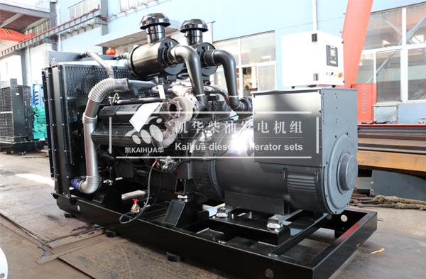 大庆市政500KW上柴发电机组成功出厂 发货现场 第2张