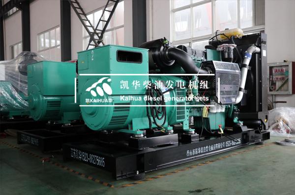 山东油田两台400KW沃尔沃发电机组成功出厂 发货现场 第1张