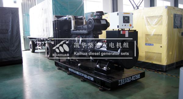 成都地产200KW上柴发电机组成功出厂 发货现场 第1张