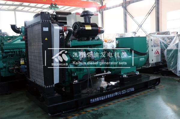 南宁地产400KW柴油发电机组成功出厂 发货现场 第2张