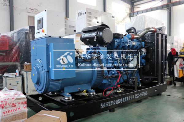天津医疗300KW玉柴发电机组成功出厂