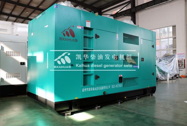 唐山医院400KW静音发电机组成功出厂