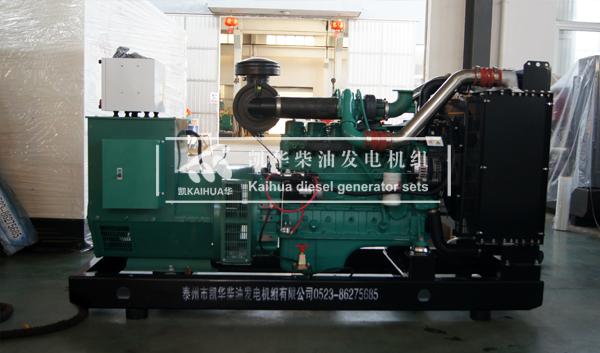 出口缅甸的一台200KW康明斯发电机组成功出厂 发货现场 第2张