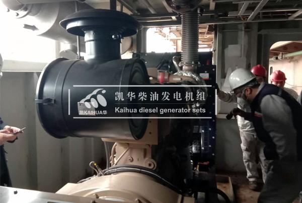 江苏船厂三台船用康明斯发电机组成功交付 国内案例 第2张