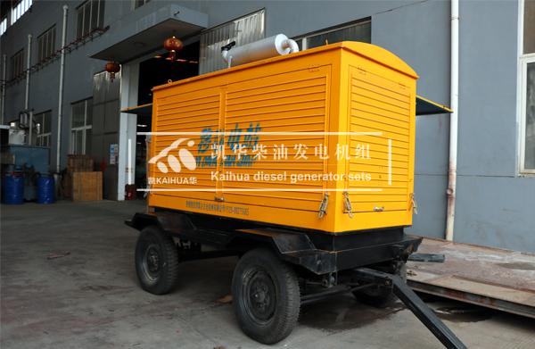 徐州工程200KW移动式发电机组成功出厂 发货现场 第1张