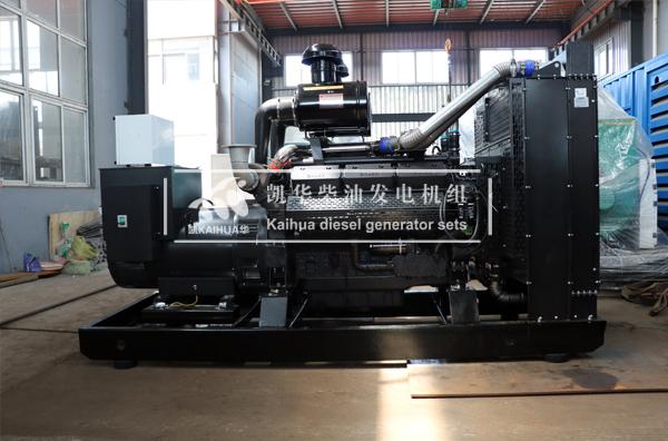 新疆建设两台上柴发电机组成功出厂 发货现场 第2张