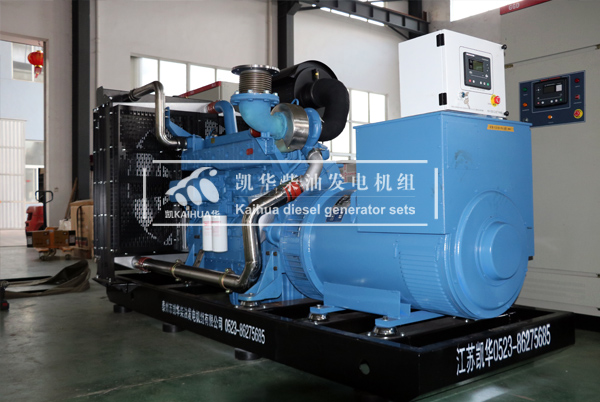 苏州化学500KW玉柴发电机组成功出厂 发货现场 第1张