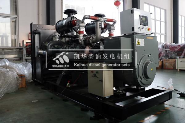 山东石油400KW燃气发电机组成功出厂