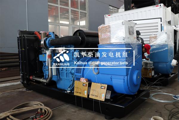 陕西矿场两台玉柴发电机组成功出厂 发货现场 第1张