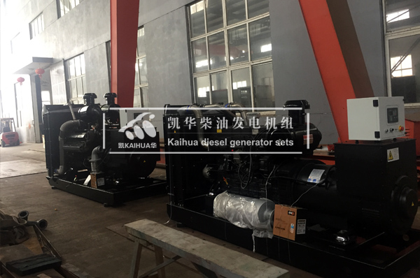 贵州农业两台上柴发电机组成功出厂 发货现场 第1张