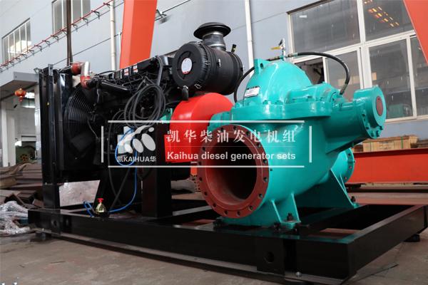 北京消防400KW柴油水泵机组成功出厂 发货现场 第2张