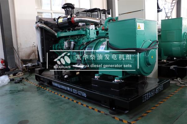 南宁地产400KW柴油发电机组成功出厂 发货现场 第1张