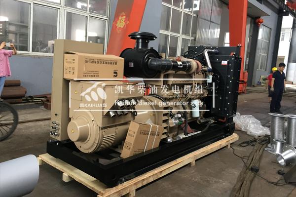 出口孟加拉的400KW船发电机组成功出厂 发货现场 第2张