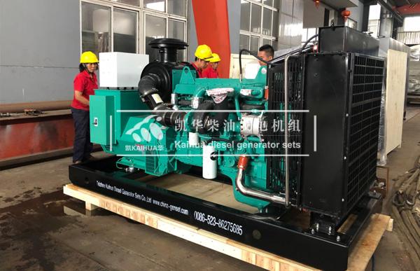 出口印尼的两台250KW康明斯发电机组成功出厂 发货现场 第2张