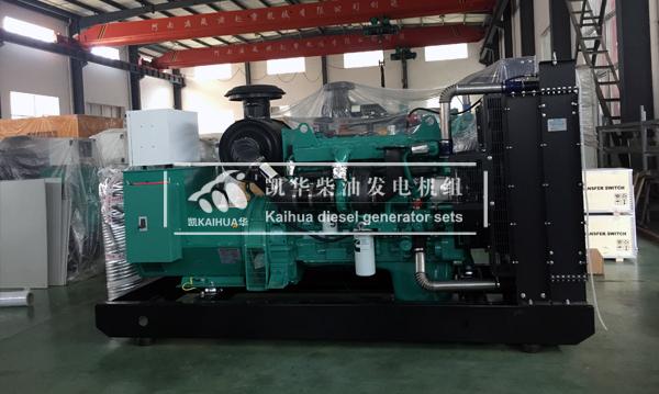 陕西水利300KW康明斯发电机组成功出厂 发货现场 第2张