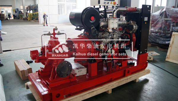 江苏油库100KW柴油油泵机组成功出厂