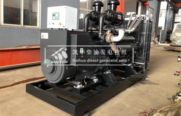 河南体育场500KW上柴发电机组成功出厂 发货现场