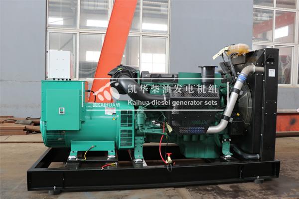 山西生物400KW沃尔沃发电机组成功出厂 发货现场 第2张