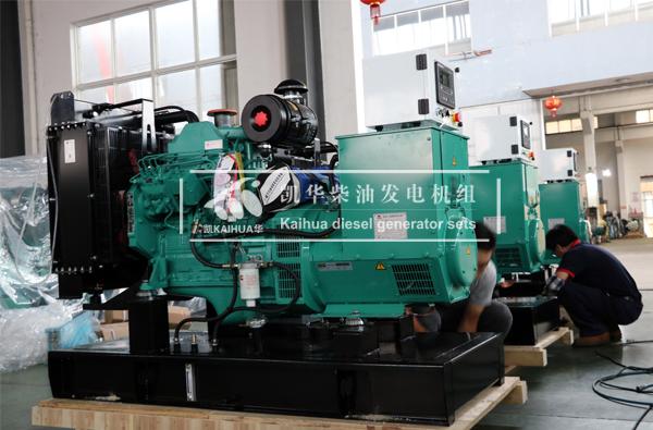 出口菲律宾的三台50KW康明斯发电机组成功出厂 发货现场 第2张