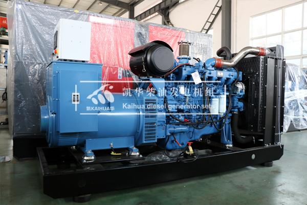 武汉建筑300KW玉柴发电机组成功出厂