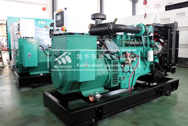 上海道路两台康明斯发电机组成功出厂 发货现场 第1张