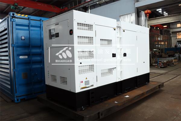 银川250KW静音柴油发电机组今日成功出厂 发货现场 第2张