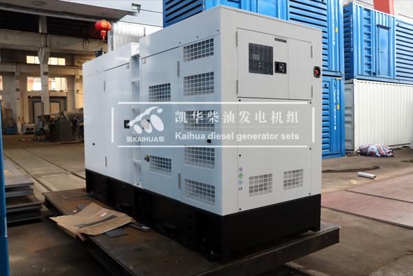 银川250KW静音柴油发电机组今日成功出厂