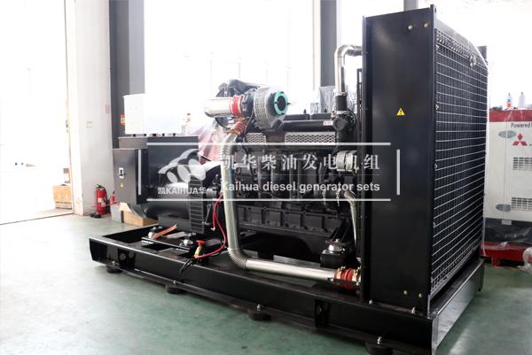 恩施工程400KW上柴柴油发电机组今日成功出厂 发货现场 第2张