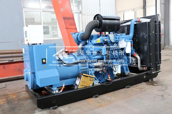 吉林物业500KW玉柴发电机组成功出厂