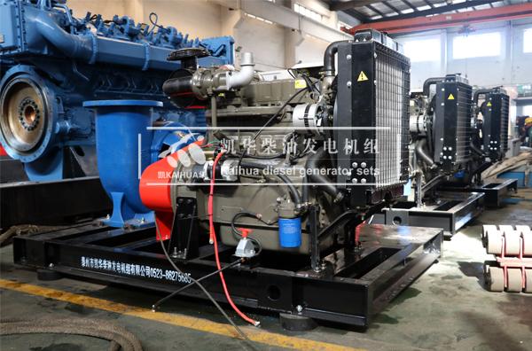 三台50KW潍柴柴油水泵机组发往河北 发货现场 第2张