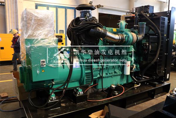 徐州电力两台康明斯发电机组今日成功出厂 发货现场 第1张