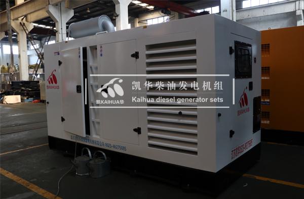 江西300KW防雨型柴油发电机组今日成功出厂 发货现场 第2张