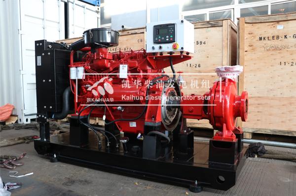 徐州水利订购的一台120KW柴油机水泵机组今日成功出厂 发货现场 第1张