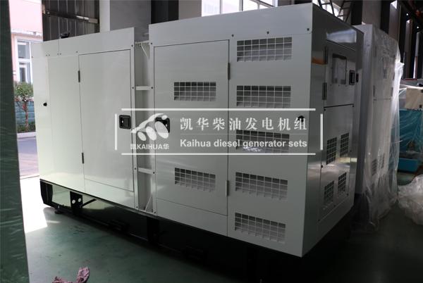 四川电力100KW静音发电机组成功出厂 发货现场 第1张
